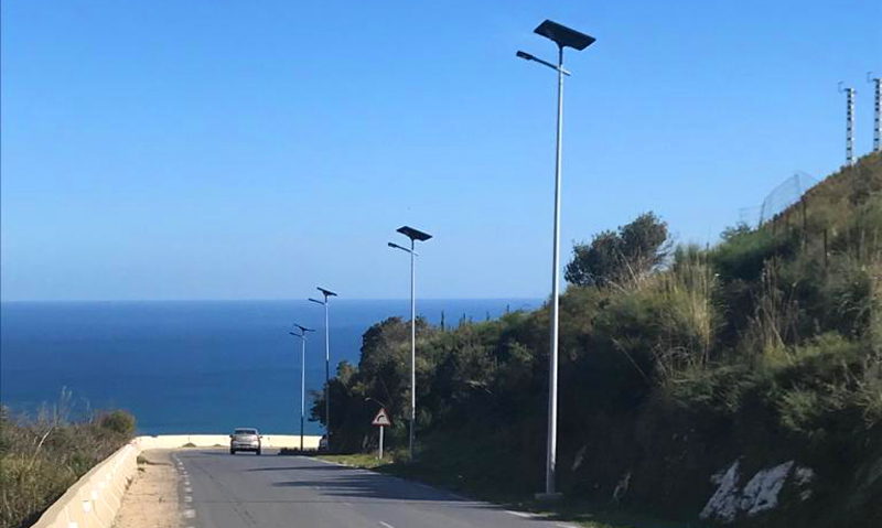 Annaba, Algeria: solar lights the way to the beach! Blog Fonroche