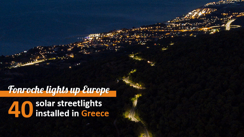 fonroche solar lighting in Europe