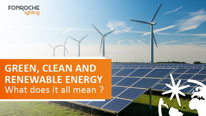 green, clean and renewable energy article