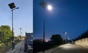 New solar public lighting project in Mombasa