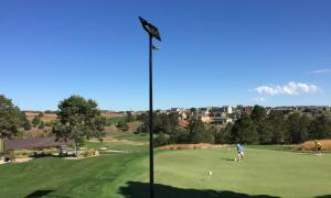 South Dakota golf course installs solar power to light up its fairways