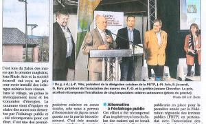 French Municipality Receives Solar Lighting Award