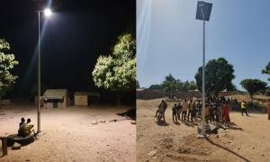 In northern Cameroon, villages without access to electricity get lighting at last