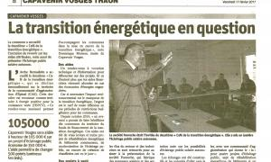 Capavenir Vosges hosts a meeting about energy transition