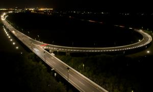 Colombia's longest bridge lit by Fonroche all-solar solution