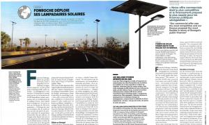 Fonroche solar streetlights to be rolled out in Senegal