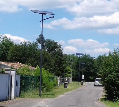 Public lighting of a housing estate