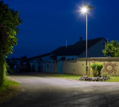 Urban lighting for rural area